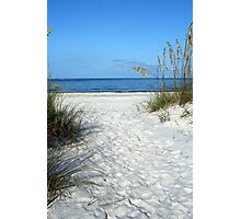 Pathway to the Gulf of Mexico Photographic Print