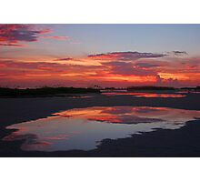 End of Day Reflections Photographic Print