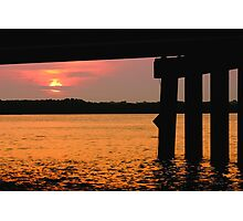 Johns Pass at Sunrise. Photographic Print