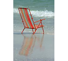 Chair Reflection Photographic Print