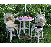 Dolly Tea Time Photographic Print