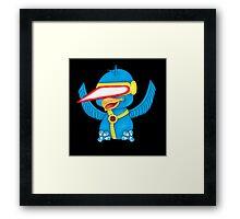 Cyclops X-Bird Framed Print