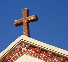 Cross and sky by kinz4photo