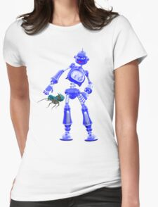 Pesky Critters .. a robots tale Womens Fitted T-Shirt