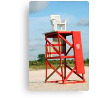 Lifeguard Chair Canvas Print