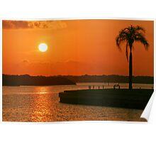 Boca Ciega Bay Sunrise Poster