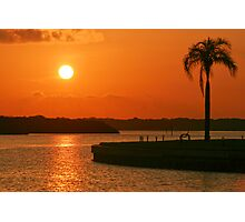 Boca Ciega Bay Sunrise Photographic Print