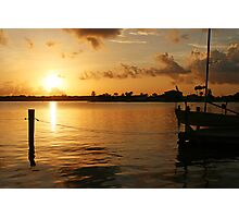 Bay Sunrise Photographic Print