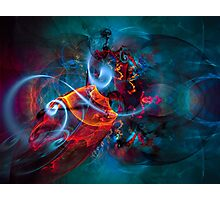 Gypsy Dream - Colorful Digital Abstract Art  Photographic Print