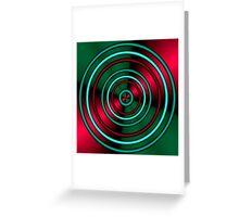 thru the hoops of life Greeting Card
