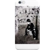 The lonely little tramp iPhone Case/Skin