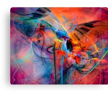 The Great Adventure- Colorful Digital Abstract Art  Canvas Print