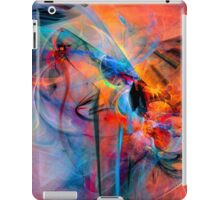 The Great Adventure- Colorful Digital Abstract Art  iPad Case/Skin
