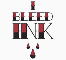 I Bleed Ink Kids Tee