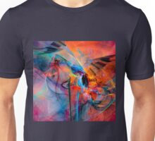 The Great Adventure- Colorful Digital Abstract Art  Unisex T-Shirt