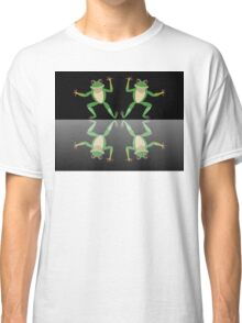 HAPPY DANCE BY FINGERS & TOES FROGS Classic T-Shirt