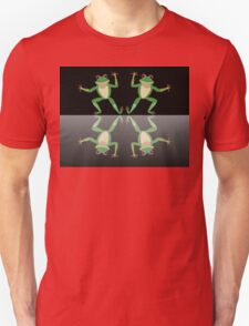 HAPPY DANCE BY FINGERS & TOES FROGS Unisex T-Shirt