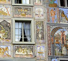 Detail from a picture book façade by bubblehex08