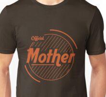 Official Mother - Orange & Brown Unisex T-Shirt