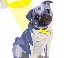 Batdog - Pug by DougPop