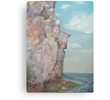 The White Rocks Canvas Print