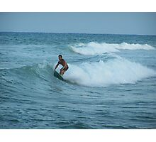 Surfing Espana Photographic Print