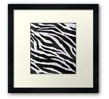 White Tiger Z 2 Framed Print
