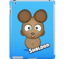 Farm Animal Fun Games - Sheldon - Blue Gradient iPad Case/Skin