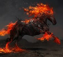 Ruin the Fiery Horse by theDURRRRIAN