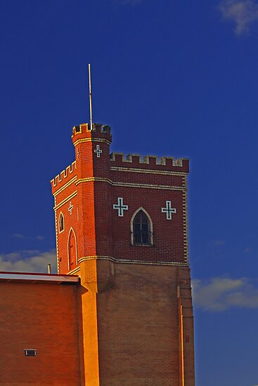 Lathlain Red Castle - Western Australia  by EOS20