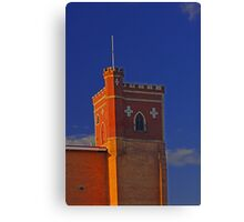 Lathlain Red Castle - Western Australia  Canvas Print