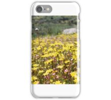Let's watch the flowers grow iPhone Case/Skin