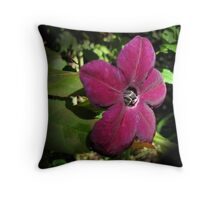 Nicotiana Throw Pillow