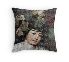 Caravaggio - Bacco Throw Pillow