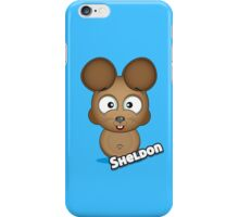 Farm Animal Fun Games - Sheldon - Blue iPhone Case/Skin