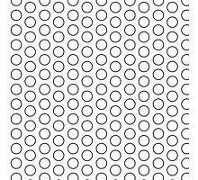 Rings Pattern Design Photographic Print