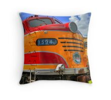 Florida East Coast Railway 1594 Throw Pillow