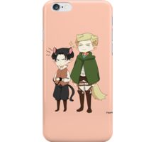 [SnK] Dogwin and Cat!Levi iPhone Case/Skin