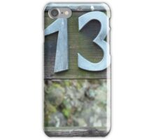 Lucky number iPhone Case/Skin