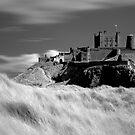 Bamburgh Castle (IR) by Paul McGuire