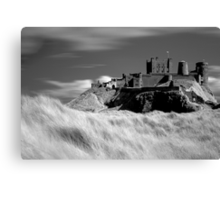 Bamburgh Castle (IR) Canvas Print