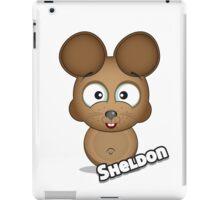 Farm Animal Fun Games - Sheldon - White iPad Case/Skin
