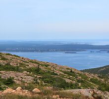 'Winter Harbor From Cadillac Mountain' by Scott Bricker