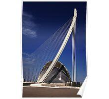 Valencia bridge Poster
