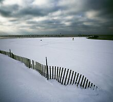 Vanishing Fence by Jim Haley