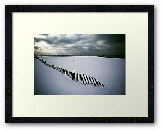 Vanishing Fence by Jim Haley