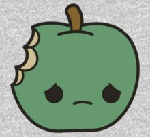 Cute sad apple Kids Clothes