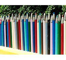 Giant Pencils Photographic Print