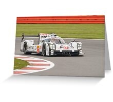 2015 WEC Porsche Team No 17 (1) Greeting Card