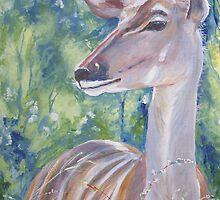 Kudu cow by Fran Webster
